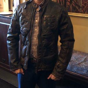 Diesel leather vintage jacket